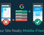 Websites that pass the Google Mobile Friendly test will be rewarded with higher rankings.  If you are aksing, Does my website pass the Google Mobile Friendly test, or