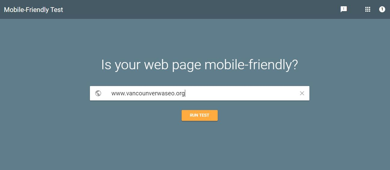 Make certain your website is mobile friendly.