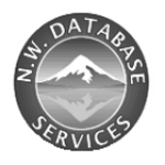 This is the logo for NW Database Services a client of Vancouver WA SEO