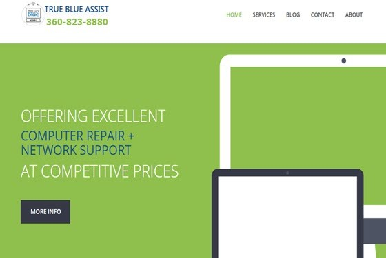 Website Development for client at Vancouver WA SEO