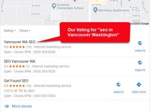 Vancouver WA SEO is the Number 1 ranking SEO company in Vancouver Washington