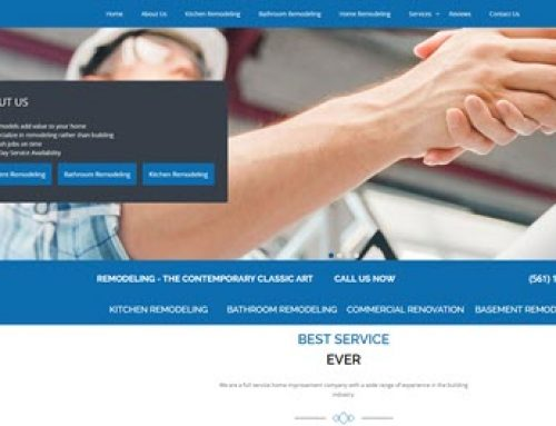 Demo Website For Remodeling Company From Vancouver WA SEO